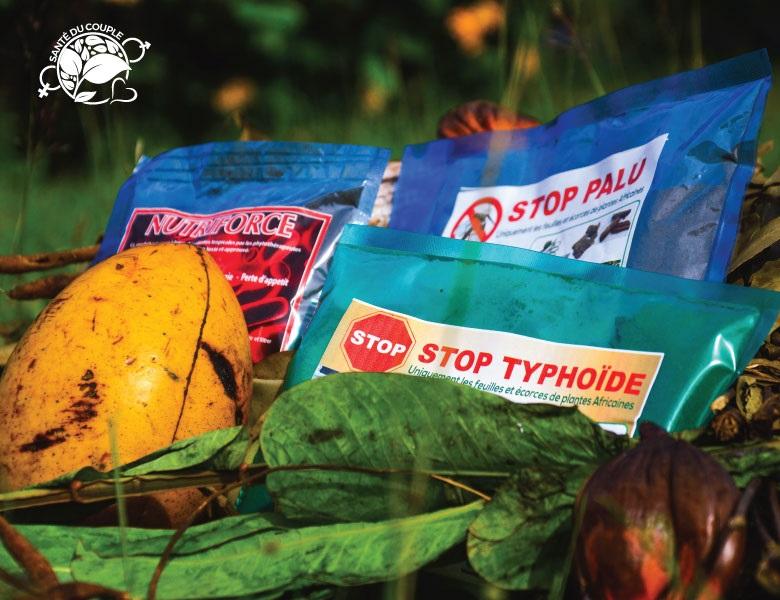 Stop palu, Stop typhoïde et Nutriforce chez Santé du couple
