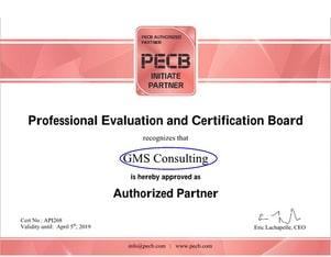 Autorisation de certification de Gms Consulting Group