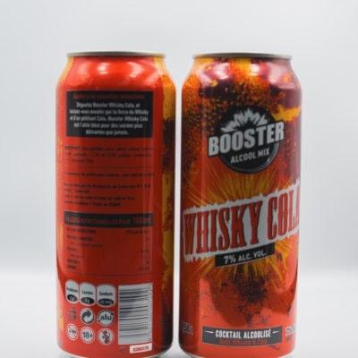 Booster Whisky Cola, produit de Drink Center