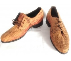 Chaussure en paille maresa art
