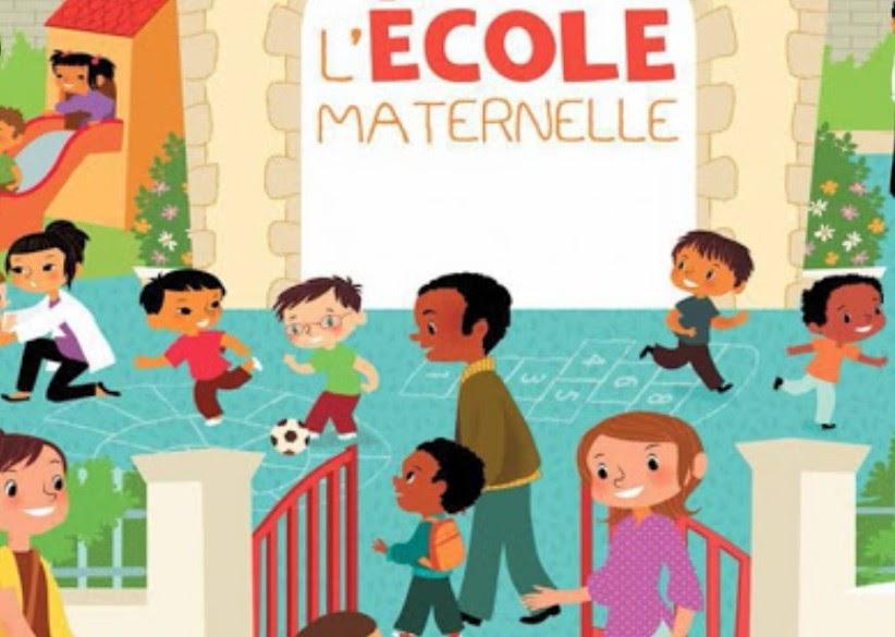 Dessin de l'école maternelle La Bergeronnette