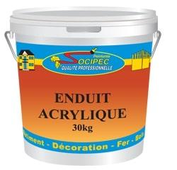 Enduit acrylique pour lissage intérieur de SOCIPEC