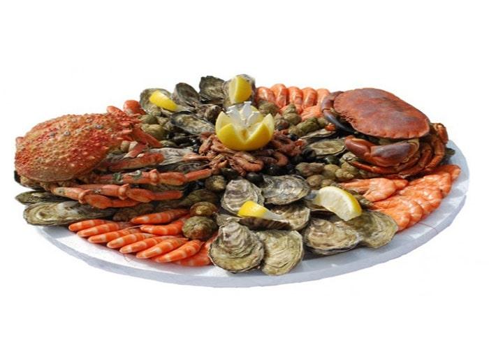 Fruits de mer de La Vallée de Bana