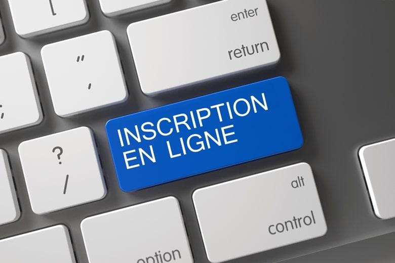 Inscription en ligne, Auto-école française