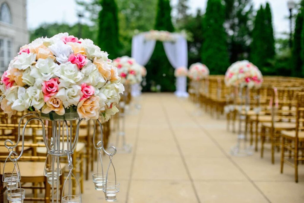 Mariage, événement d'Ascèce