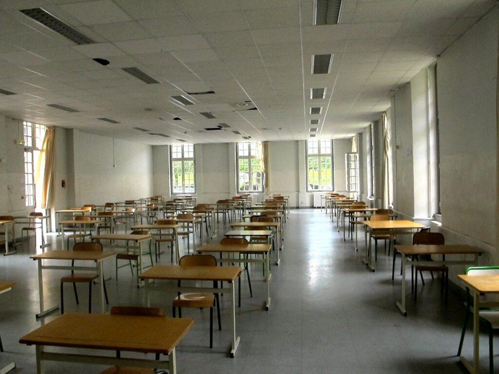 Salle d'examen tous les concours