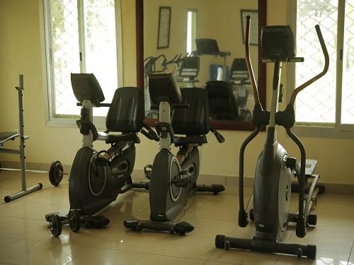 Salle de fitness seme beach