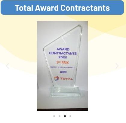 Nomination pour le respect des délais de travaux de l'entreprise Am Industries