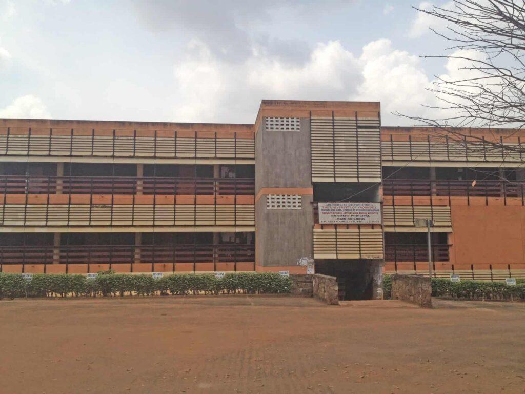 Université de Yaoundé, topographie par Dmh