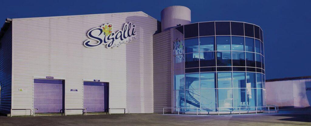 Usine SICALIA, ex SIGALLI SICALIA
