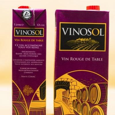 Vinosol en brique, produit de Drink Center